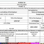 Download Automated Income Tax Revised Form 16 Part A and B and Part B for the F.Y. 20219-20 With claim Tax Benefit for Rent Paid U/s 80GG who are not get the House Rent