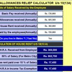 Employees have to inform their employers must intimate to their Option about New Or Old Tax Regime U / s 115 BAC- with Automated Income Tax Arrears Relief Calculator U / s 89 (1) for the F.Y.2020-21